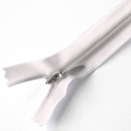 Cremallera invisible Blanco Natural 502 60 cm (25 uds)