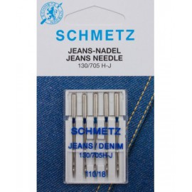 Aguja Schmetz Jeans Vaqueros 130/705 H J
