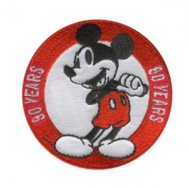 Parche Bordado Mickey Mouse 3484-02