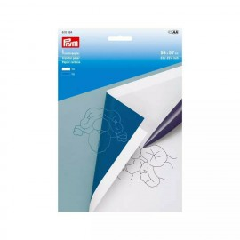 Papel de calco o copia Blanco - Azul Prym 616464