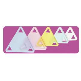 Set de Plantillas Triángulos