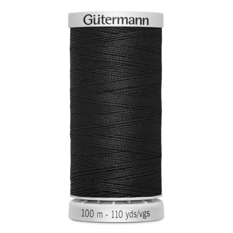 Hilo Extrafuerte Negro Gutermann (100 mts)