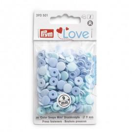 Mini Snaps Prym 9 mm Azules